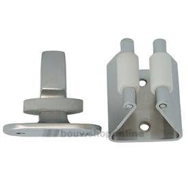 deurvastzetter nikkel met nylon rol 253301.6