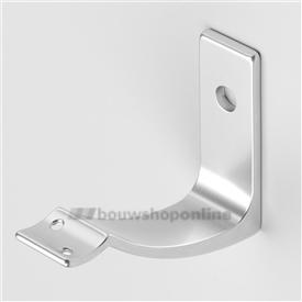 Hermeta leuninghouder aluminium mat voor stokschroef 3548-11