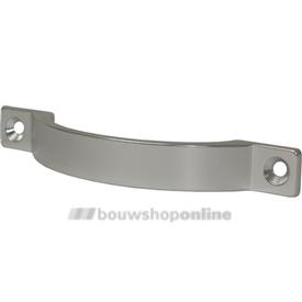 Meubelgreep aluminium mat 128 mm hoh opschroef 4222-11