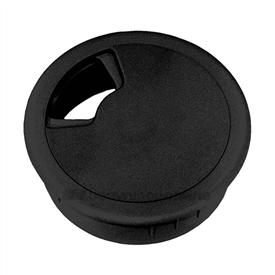 Berma kabeldoorvoer kunststof 80 mm zwart