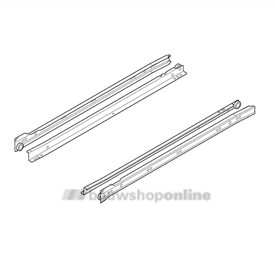 Blum ladegeleiders Blumatic 500 mm 25 kg 230M5000
