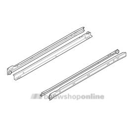 Blum ladegeleiders Blumatic 550 mm 25 kg 230M5500