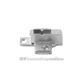 Blum Kruismontageplaat 9 mm 175H7190