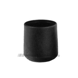 Interieur peerdop zwart 32 mm