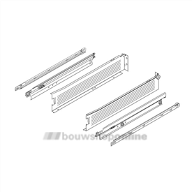 Blum Metabox ladegeleiders 500 mm 86 mm hoog 330M500PC