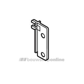 Blum Metabox staalbox-v-relingrugstuk metaal ZRR.8000