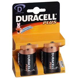 Duracell mono-groot [2x] LR20D MN1300 batterijen
