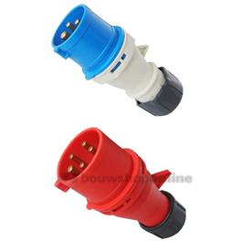 ABL CEE contactstop 5p. 16A-380Vrood s51sl30