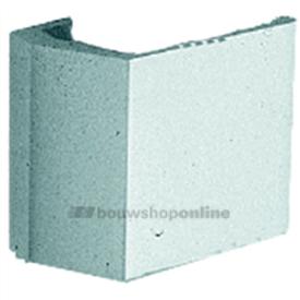 Hermeta deurduwer aluminium geanodiseerd 70/90 x 80 mm F1 4300-01