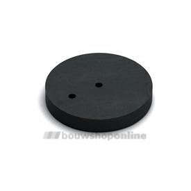Dulimex deurstopper verhoging 12 mm rubber
