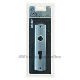 AXA Curve deurschilden met cilindergat 55 mm 6350-20-91/B55 F-1