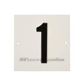 Besbo Huisnummerplaat 1