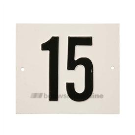 Besbo Huisnummerplaat 15