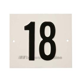 Besbo Huisnummerplaat 18