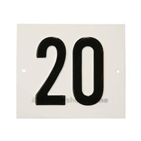Besbo Huisnummerplaat 20