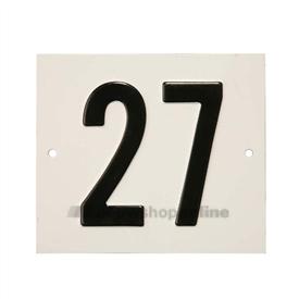 Besbo Huisnummerplaat 27