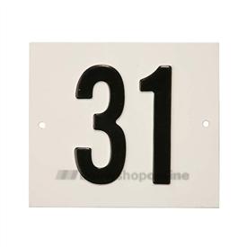 Besbo Huisnummerplaat 31