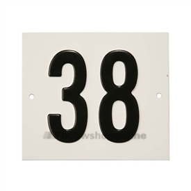 Besbo Huisnummerplaat 38