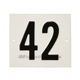 Besbo Huisnummerplaat 42