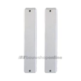 Hoppe langschilden aluminium geheel blind 202sp-2-bl F-1