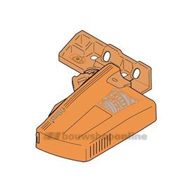 Blum ladegeleider koppeling Movento T51.7601 Links