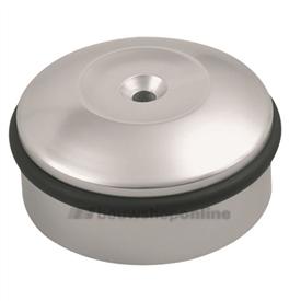 Hermeta deurbuffer rond aluminium 60 mm vloermodel 4760-11