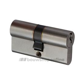 Nemef veiligheidscilinders gelijksluitend 111/9 (4x)