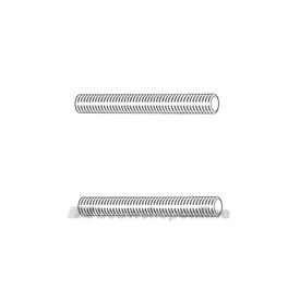 RVS draadeinden (2x) M8x65 mm (dd = 27-42 mm)