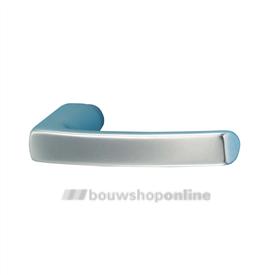 HOPPE 107V deurkrukken >54< 4908806 blokmodel Dubayy aluminium F-1