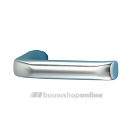Hoppe 113(p) deurkrukken >49< mm brede duim aluminium F-1
