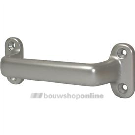 Hermeta greep aluminium geanodiseerd F-2 140 mm rondmodel 4256-02
