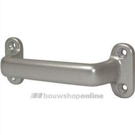 Hermeta greep aluminium geanodiseerd F-2 160 mm rondmodel 4257-02