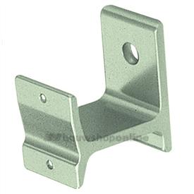 Hermeta leuninghouder aluminium F-2 voor plank-keilbevestiging 3570-02