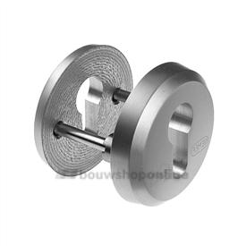 Nemef 3441 veiligheidsrozetten massief aluminium