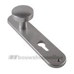 AMI knopschild (50) ovaal met cilindergat 72 mm 200/1/7 F-1
