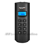 Mytube radio FM RDS - AUX-IN grijs incl.batterijen
