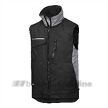 Craftsmens wintervest zwart-d.grijs 4528 0418 L