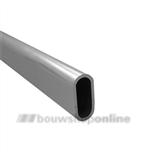 Buis ovaal Gardelux-1 nieuw zilver 1.5 m \1010-02M