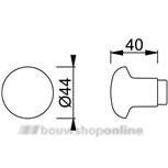 Hoppe Knopschild F1 PC72 \40/202KP
