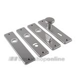 AMI kortschilden aluminium f2 rechthoekig sleutelgat 56 165/4 rh