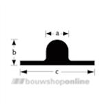 Schuifruitrail alumunium 25 x 7.5 x 8.3 mm hoog 2560011