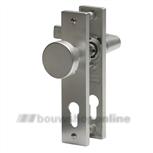Nemef knopschild 3251FB rechthoekig deurbeslag zonder sleutelgat F1