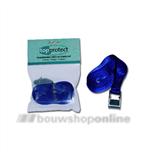 sjorbandspanband 5m x 25 mm met klemgesp blauw 2dlg