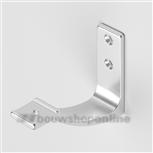 Hermeta leuninghouder aluminium mat opschroef 3545-11