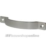 Meubelgreep aluminium mat 160 mm hoh opschroef 4223-11