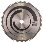Cirkelzaagblad multi kap- en verstekzaag & t 305x30x3.2 96t tr-f