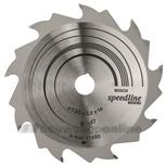 Cirkelzaagblad speed 130x16x2.2 9t fzwz