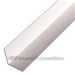260cm hoekprofiel wit 20x20x1.5 mm