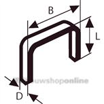 nieten met fijne draad type 53-8 (1000)