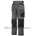 Werkbroek DuraTwill grijs/Zwart maat 52 3212-7404